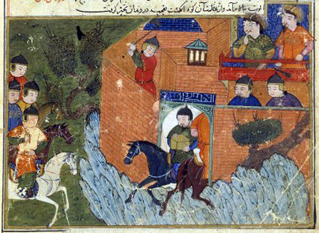 did genghis khan ride a marwari horse