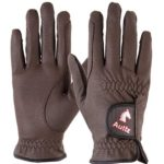 Auttz Equestrian Horse Riding Gloves Synthetic Leather