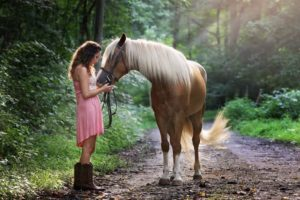 overcoming fear of riding horses