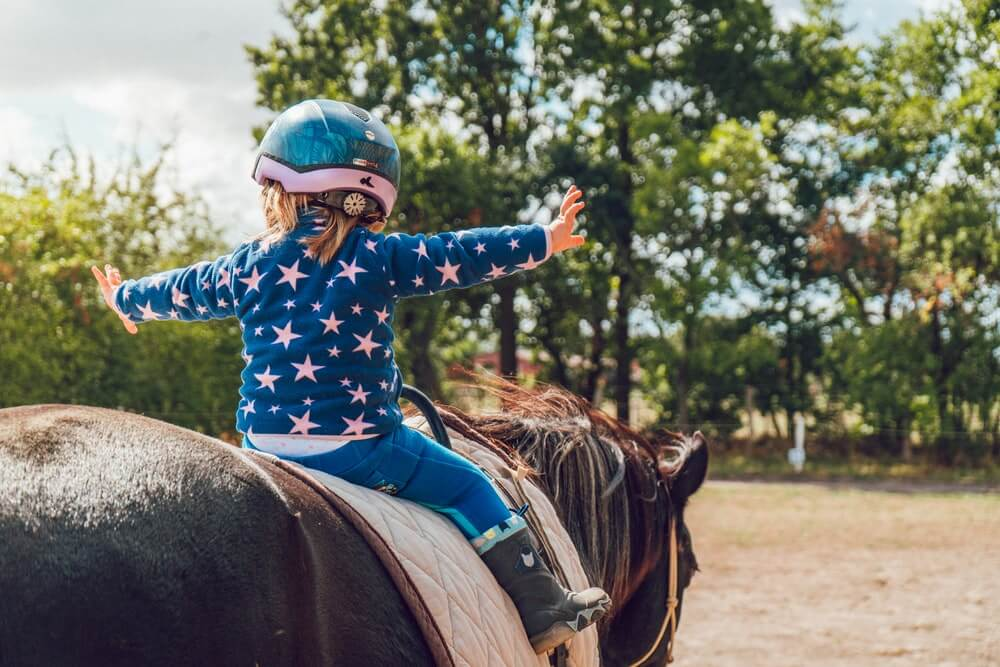 horse riding teaches responsibility