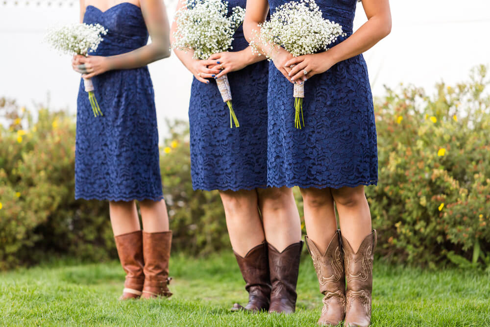 what to wear to a cowboy wedding